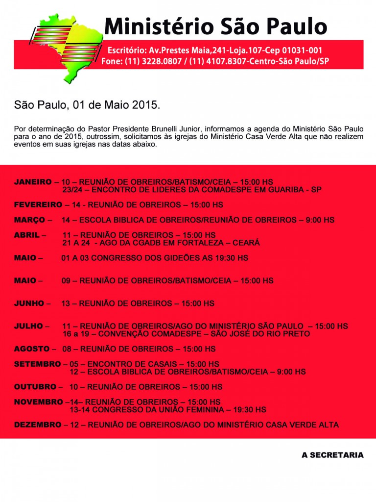 agenda 2015 msp