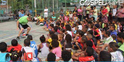 Evangelismo durante Olimpíadas resulta em 208 conversões